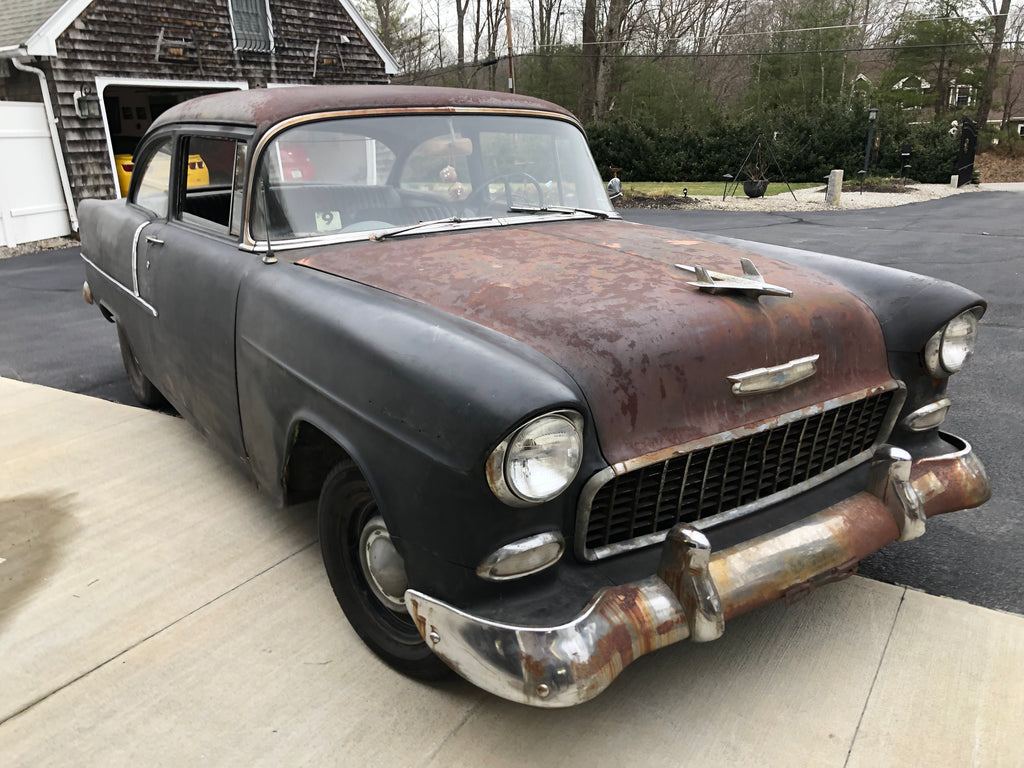 55 Chevy Goin For a Ride by Vtwinstov8s.com Troy Kane
