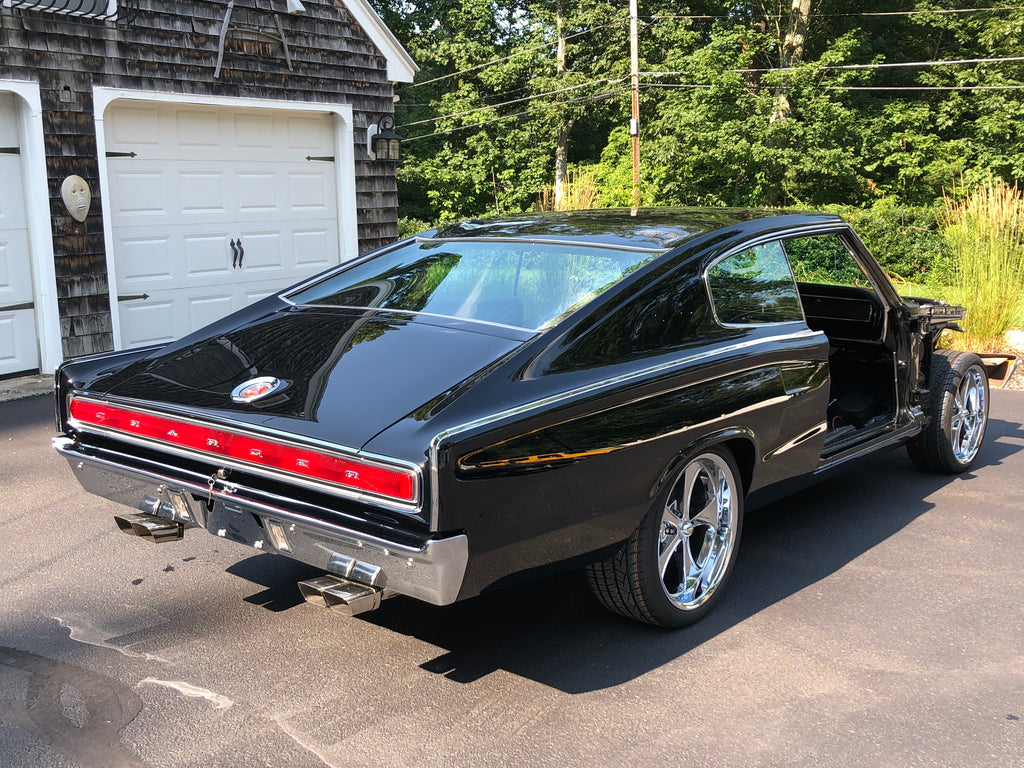 67 Charger Project Update Backside is Lookin Ooh So Good!