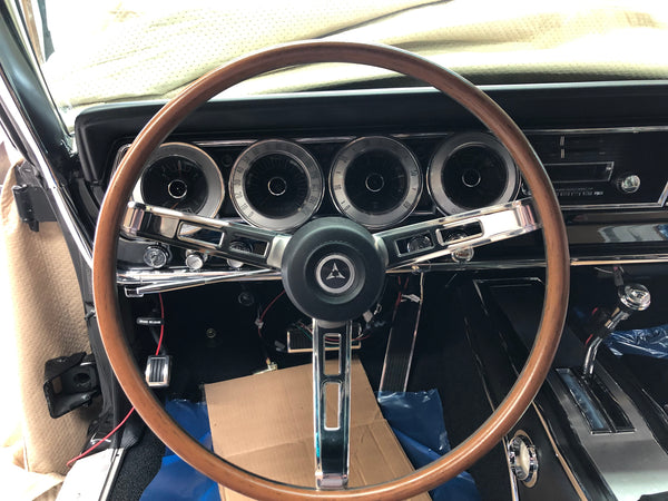 67 Charger Interior In Leather is Stuning!