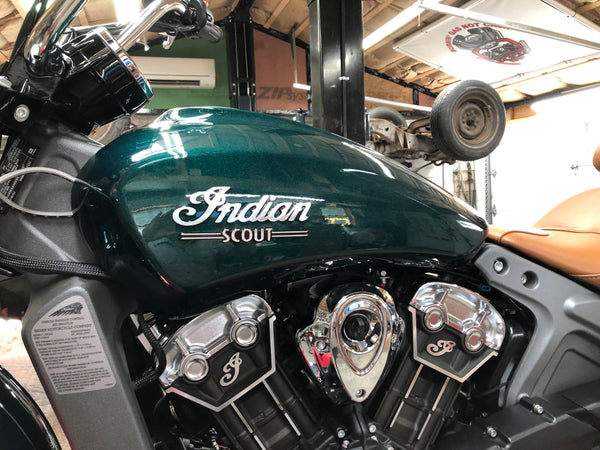 2019 Indian Scout Crash Repair Complete!