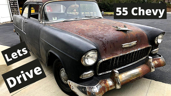 Take a spin in a 1955 Chevy 210