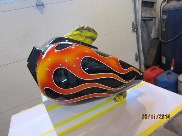 Previous Custom Made Motorcycle Tanks & Fenders - V-Twins to