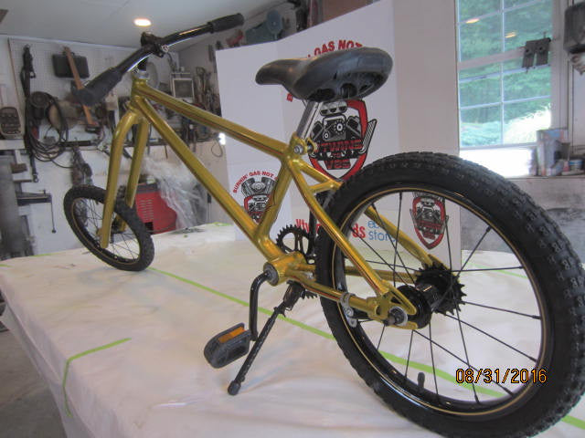 Custom Made Chopper Bicycle Raked and Stretched Paint House Of Kolor ...