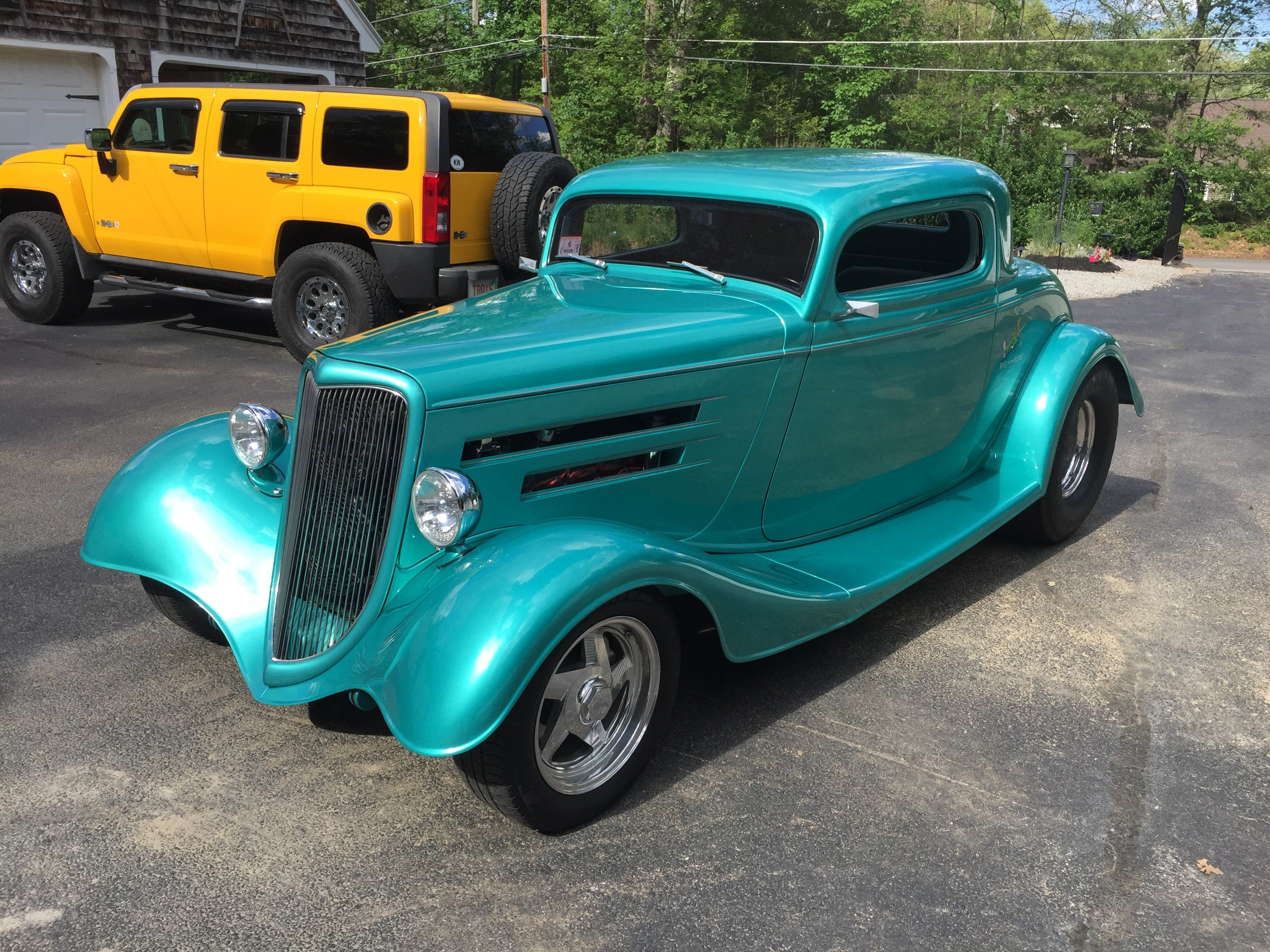 34 Ford 3 Window Coupe Fuel Injected Big Block Pro Street! - V-Twins ...