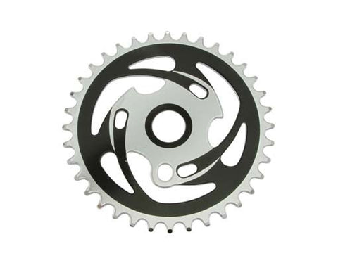 Picture of Lowrider Sprocket Zt7b-a 36t 1/2 x 1/8 Chrome.