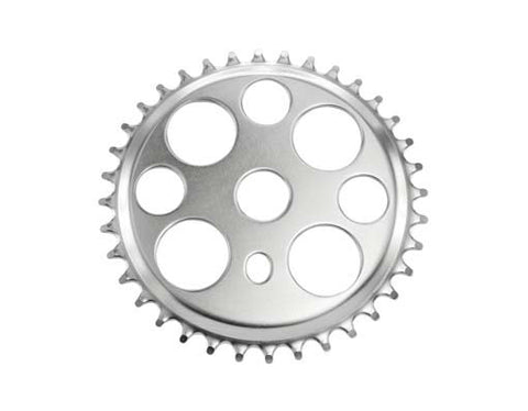 Picture of Lowrider Lucky 7 Sprocket 36t 1/2 x 1/8 Chrome.