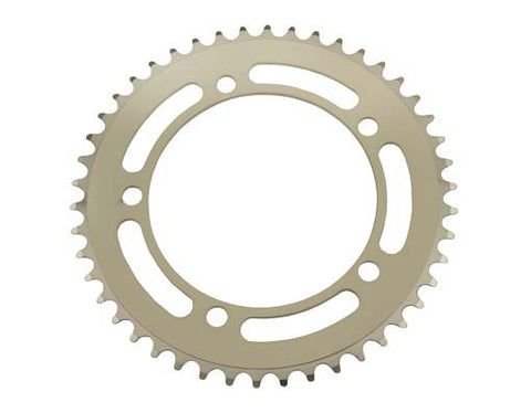 Picture of Alloy Chainring 1/2 x 1/8 46t White.