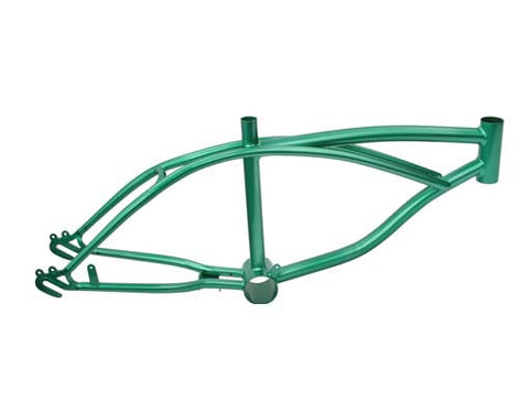 "Picture of 16"" Lowrider Frame Metalic/Green."