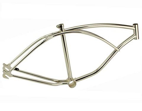"Picture of 24"" Beach Cruisers Frame Chrome."