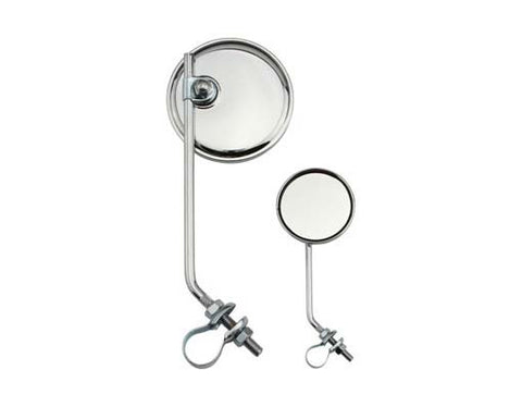 Picture of Round Mirror All Chrome.