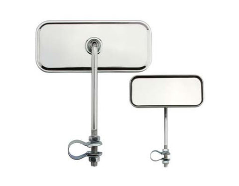 Picture of Rectangle Mirror All Chrome.