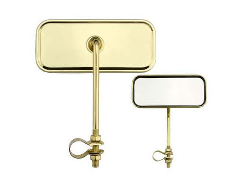 Picture of Rectangle Mirror All Gold.