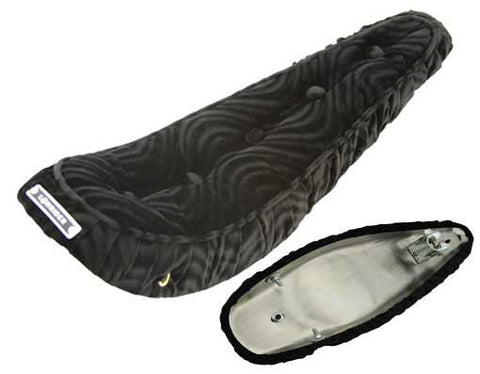 "Picture of 20"" Polo Saddle W/Button Black."