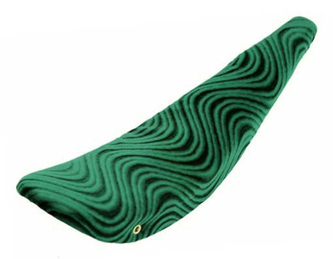 "Picture of 26"" Banana Saddle Velour Green."