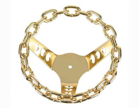 Picture of Chain Steering Wheel Gold.