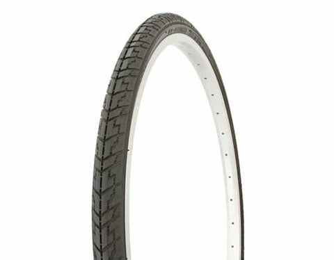 "Picture of Tire Duro 24"" x 1 3/8"" Black/Black Side Wall HF-109."