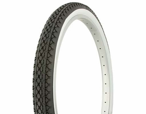"Picture of Tire Duro 26"" x 2.125"" Black/White Side WallHF-133."