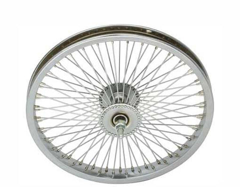 "Picture of 16"" 72 Spoke Front Wheel 14G Chrome."