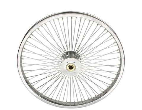 "Picture of 20"" 72 Spoke Hollow-Hub Wheel 14G Chrome."