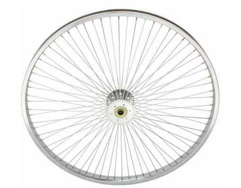 "Picture of 26"" 72 Spoke Hollow-Hub Wheel 14G Chrome."