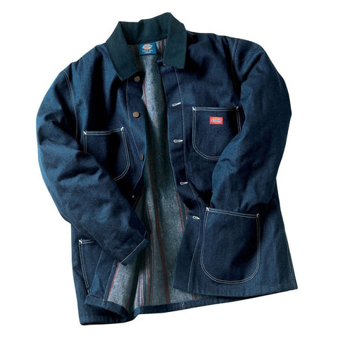 Picture of Denim Blanket Lined Chore Coat