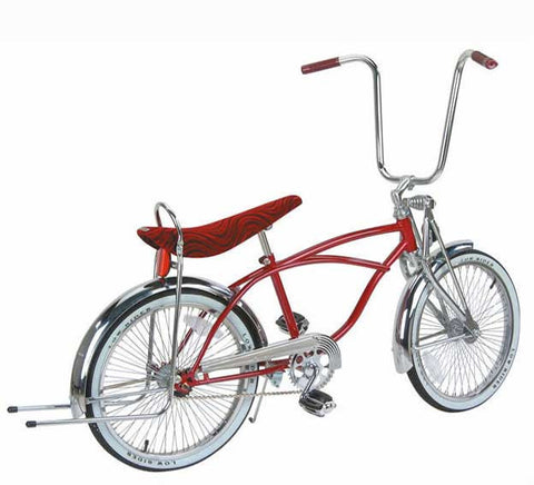 "Picture of 20"" Lowrider Bike Red 529-1."