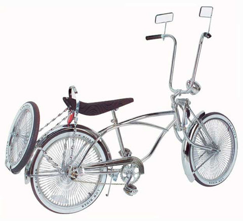 "Picture of 20"" Lowrider Bike Chrome 536-3."