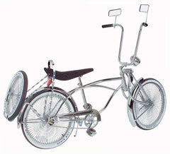 "20"" Lowrider Bike Chrome 536-3."