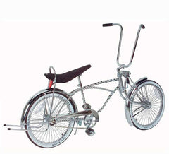 "20"" Lowrider Bike Chrome 541-3."