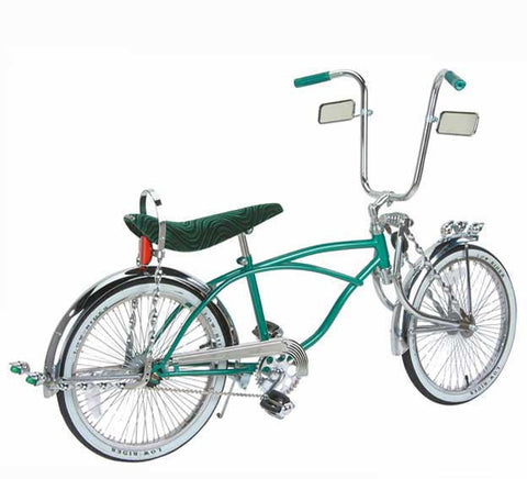 "Picture of 20"" Lowrider Bike Green 542-3."