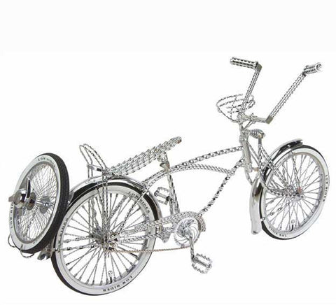 "Picture of 20"" Lowrider Bike All Twisted Chrome."