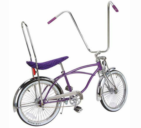 "Picture of 20"" Lowrider Bike Purple 551-1."