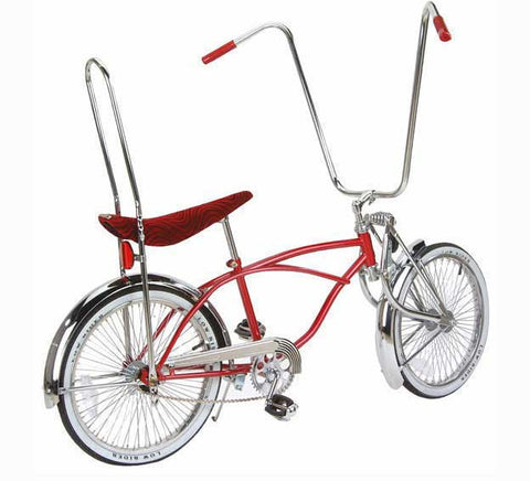 "Picture of 20"" Lowrider Bike Red 552-3."