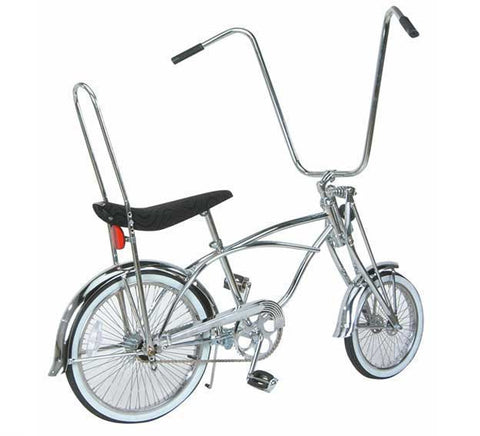 "Picture of 20"" Lowrider Bike Chrome 556-1."