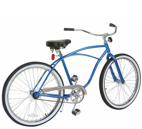 "Picture of 26"" Beach Cruisers Bike Chrome 559-1."