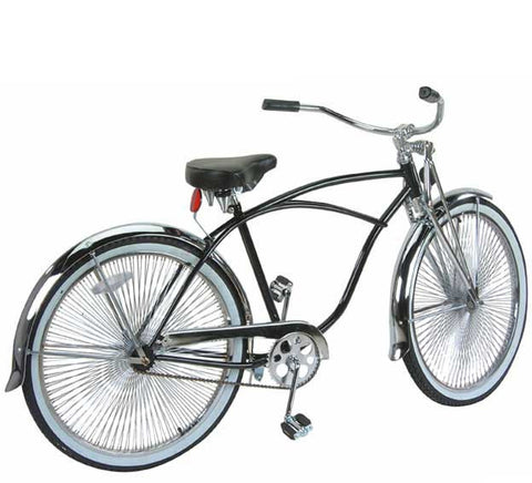 "Picture of 26"" Beach Cruisers Bike Chrome 575-1."