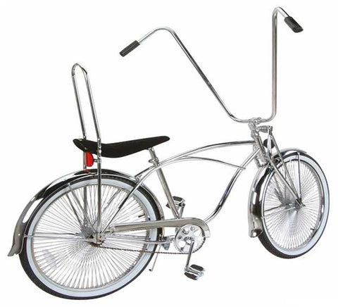 "Picture of 26"" Beach Cruisers Bike Chrome 589-1."