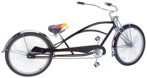 "Picture of 26"" Limo Bike Chrome 597-1."