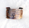'BE KIND' Quote Cuff Bracelet