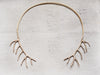 Elk Horn Handmade Bronze Choker Necklace