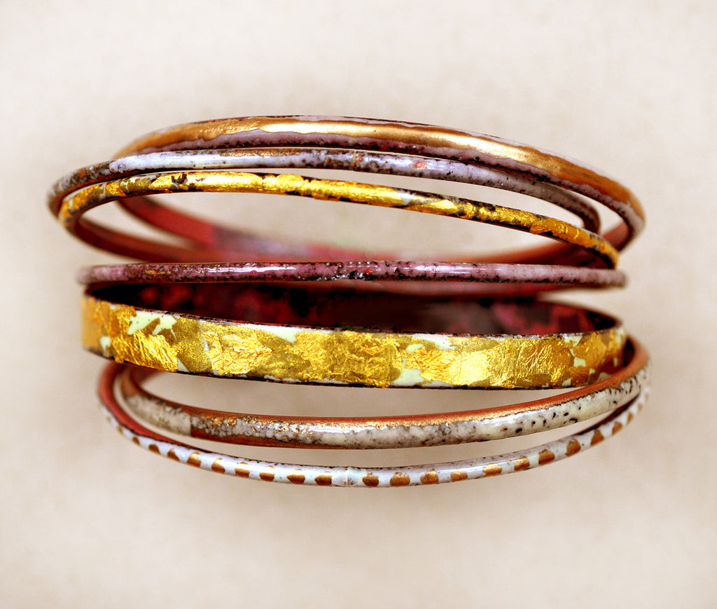 'Midas' Bangle Set