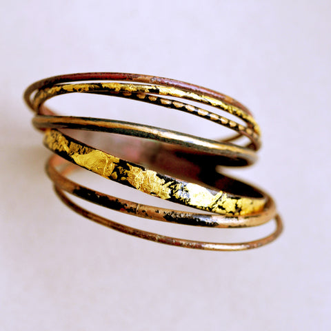 'Freya' Bangle Set