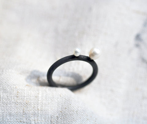 Seed Pearl Ring