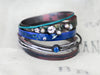 Seafarer Bangle Set - Ocean Blue