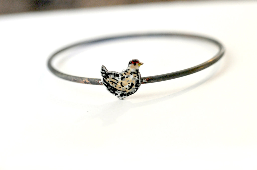 Handmade Bangle - 'Henny' - Handmade Bangle