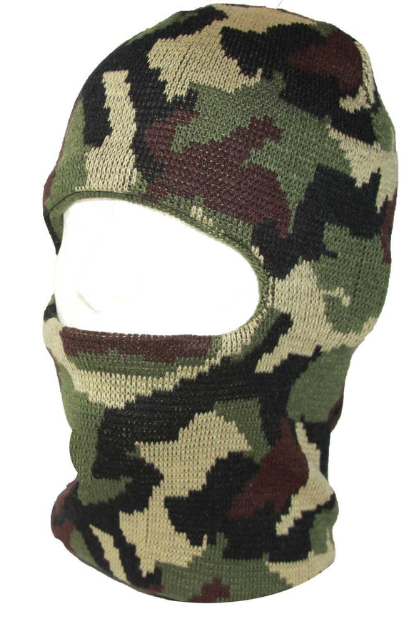 Face Ski Mask 1 Hole