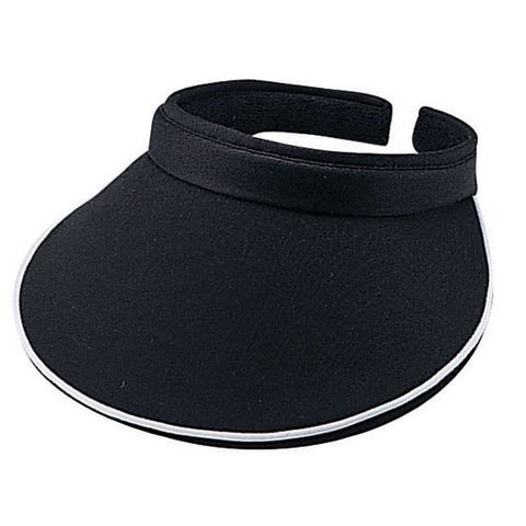 Cotton Twill Clip-On Athletic Visor