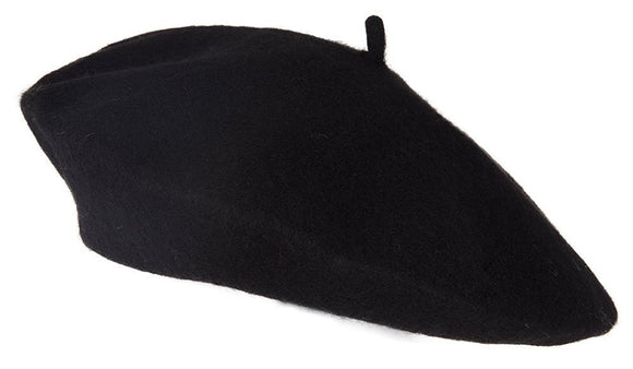 TopHeadwear Chic 100% Wool French Beret