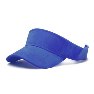 TopHeadwear Sports Blank Visor, Royal