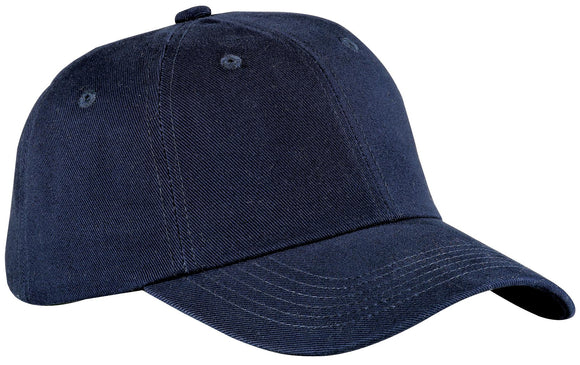 Top Headwear Brushed Twill Cap